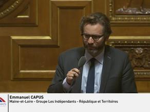 """Emmanuel CAPUS : Débat sur le thème de """"la lutte contre la fraude à la TVA transfrontalière"""""""