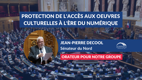 Jean-Pierre DECOOL : Protection de l'accès aux œuvres culturelles à l'ère du numérique