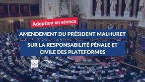 Claude MALHURET : Amendement adopté sur le PJL confortant le respect des principes républicains