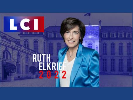 "Claude Malhuret - LCI ""Ruth Elkrief 2022"" : Présidentielle 2022 - Marine Le Pen - Anne Hidalgo"