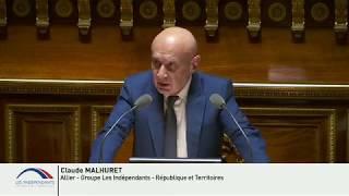 """Claude MALHURET : PJL de Finances pour 2018 - sur les crédits de la mission """"Travail et emploi"""""""