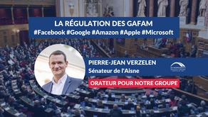 Pierre-Jean VERZELEN : Débat - La régulation des GAFAM