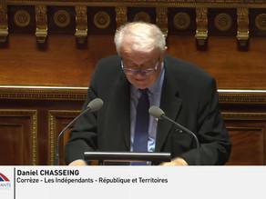 Daniel CHASSEING : PPL Droit de résiliation sans frais de contrats de complémentaire santé