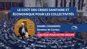 Daniel CHASSEING : Le coût  des crises sanitaire et économique pour les collectivités territoriales
