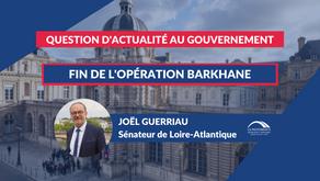 Joël GUERRIAU : QAG - Fin de l'opération Barkhane