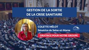 Colette MÉLOT : Conclusions CMP - Gestion de la sortie de la crise sanitaire