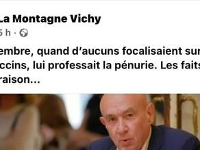 La Montagne - Claude Malhuret : Stratégie du gouvernement, arrivée de vaccins, décentralisation ...