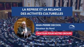 Jean-Pierre DECOOL : Débat - La reprise et la relance des activités culturelles