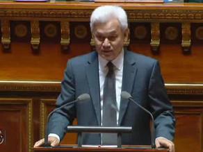 Robert LAUFOAULU : PJL de convention d'entraide judiciaire entre la France et le Burkina Faso