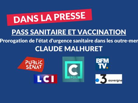 Claude Malhuret : Pass sanitaire et les anti-vax