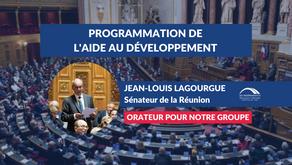 Jean-Louis LAGOURGUE : PJL programmation du développement solidaire - lutte contre les inégalités