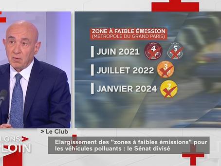 Public Sénat - Claude Malhuret : L'invité politique du Club