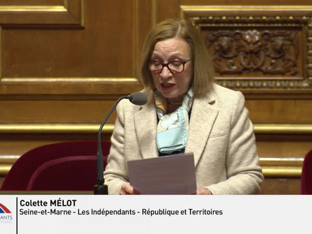 Colette MELOT : Question sur la prostitution des adolescentes