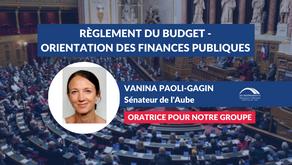 Vanina PAOLI-GAGIN : Règlement du budget et approbation des comptes de l'année 2020