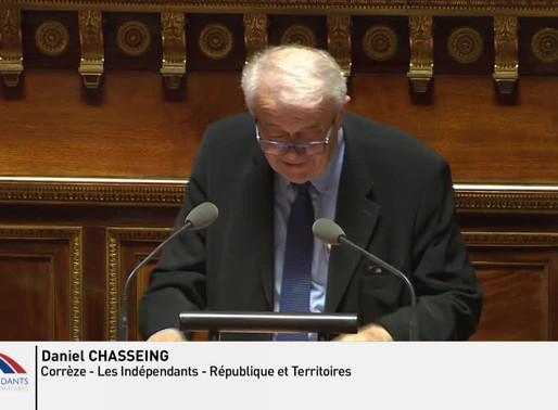 Daniel CHASSEING : PJLO et PJL relatifs à la dette sociale et à l'autonomie