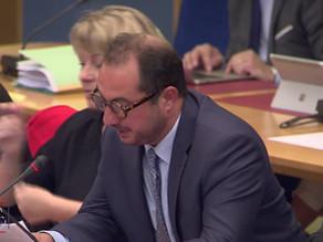Franck MENONVILLE : Débat sur le bilan de l'application des lois