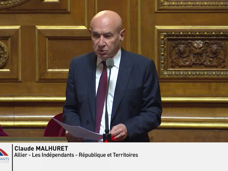 Claude MALHURET : Question sur la Situation en Syrie