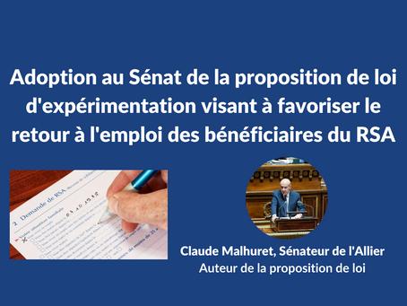 Public Sénat / Le Figaro / La Montagne : Adoption de la proposition de loi de Claude Malhuret
