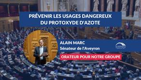 Alain MARC : Explications de vote - Prévenir les usages dangereux du protoxyde d'azote