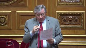 Alain FOUCHE : PJLO portant report des élections sénatoriales et législatives partielles