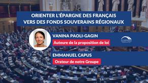 Orienter l'épargne des Français vers des fonds souverains régionaux