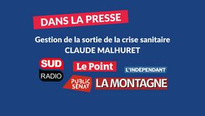 Claude Malhuret sur le Pass Sanitaire : retombées dans les médias