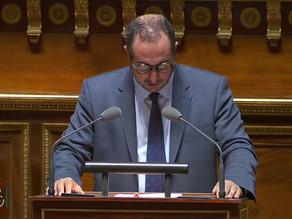 Franck MENONVILLE : Expl. vote PPL Transparence de l'information sur les produits agricoles