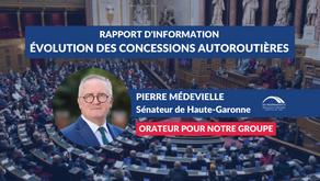 Pierre MÉDEVIELLE : Débat - Contrôle, régulation et évolution des concessions autoroutières