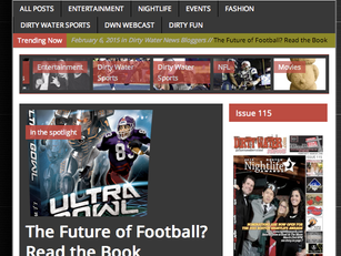 ULTRA BOWL featured on DirtyWaterNews