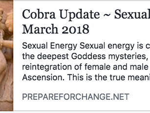 Sexual Energy and the Coming Ascension