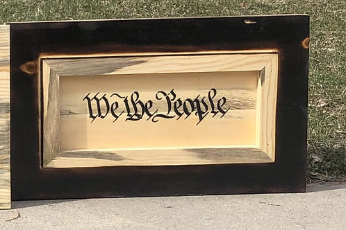 "Beetle Kill ""We The People"" Hand Gun Concealment Box"