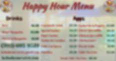 las hadas Happy Hour Menu 9.17.19 1200 x