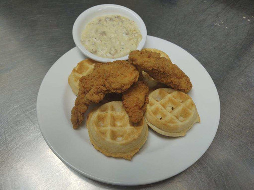New Chicken and Waffles
