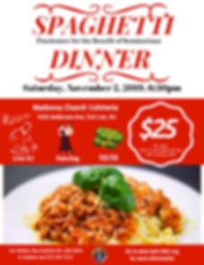 FINAL Knights Spaghetti Dinner flyer 201