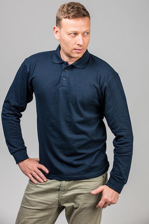 BE250 Long Sleeve Pique Polo Shirt - Unisex
