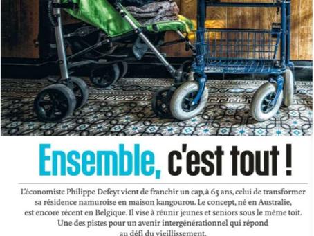 Dans le Vif l'Express...
