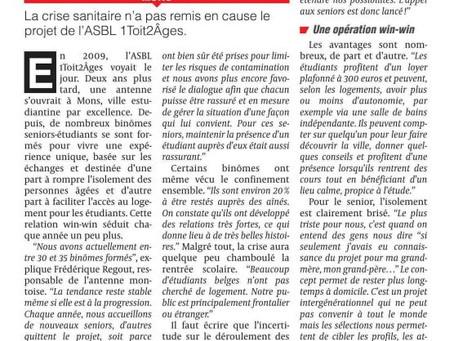 La DH : Le Logement InterG à Mons