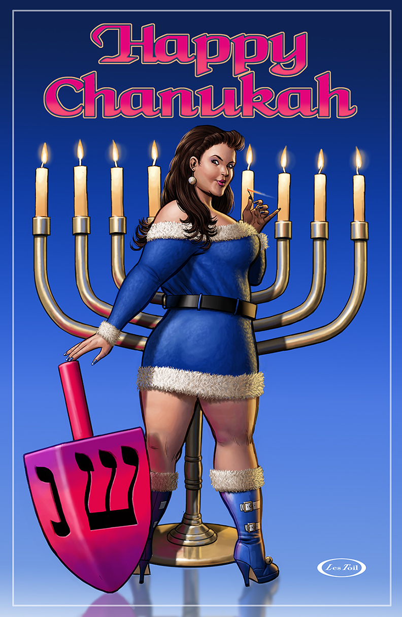 Chanukah Art