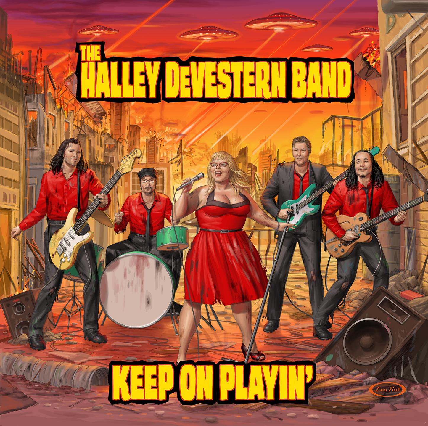Halley DeVestern EP