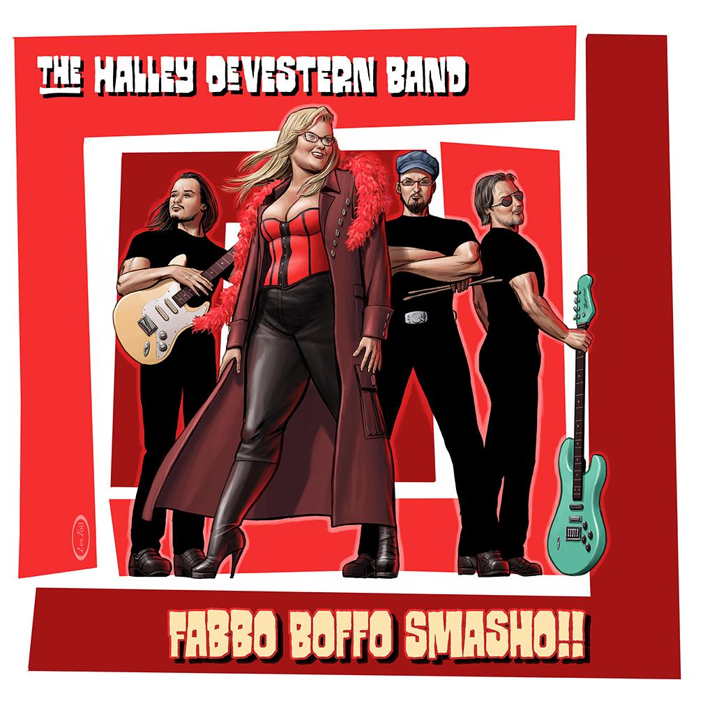 Halley DeVestern Band