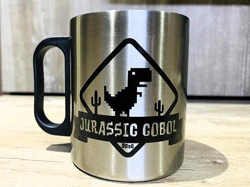 Caneca Jurassic COBOL