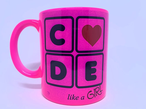 Caneca CODE Like a Girl