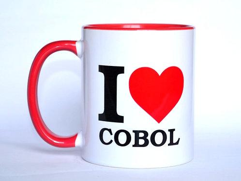 Caneca I Love COBOL