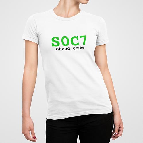 Camiseta COBOL S0C7 - FEM