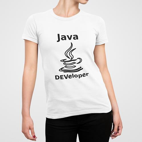 Camiseta Java DEVeloper - FEM