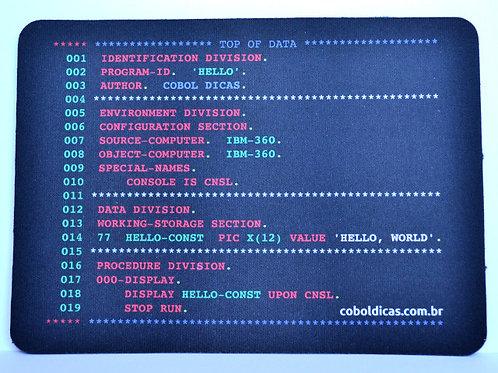Mouse Pad COBOL Code