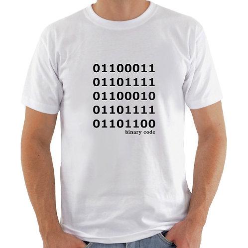 Camiseta Binary code