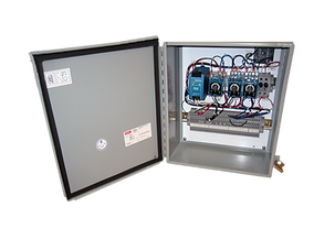 Instruction manual provided for easy user installation and setup.  •    Three configurable infrared motion detectors included with standard system.  •     Operator's Panel design allows convenient surface mounting on          operator's  console.
