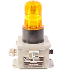 Provides a bright, flashing, visual indication of an alarm condition in noisy  machinery spaces.  •       Works with EMI Standard Alarm Systems, but simple design is well suited to a variety of otherapplications  •         Replacable high intensity bulb