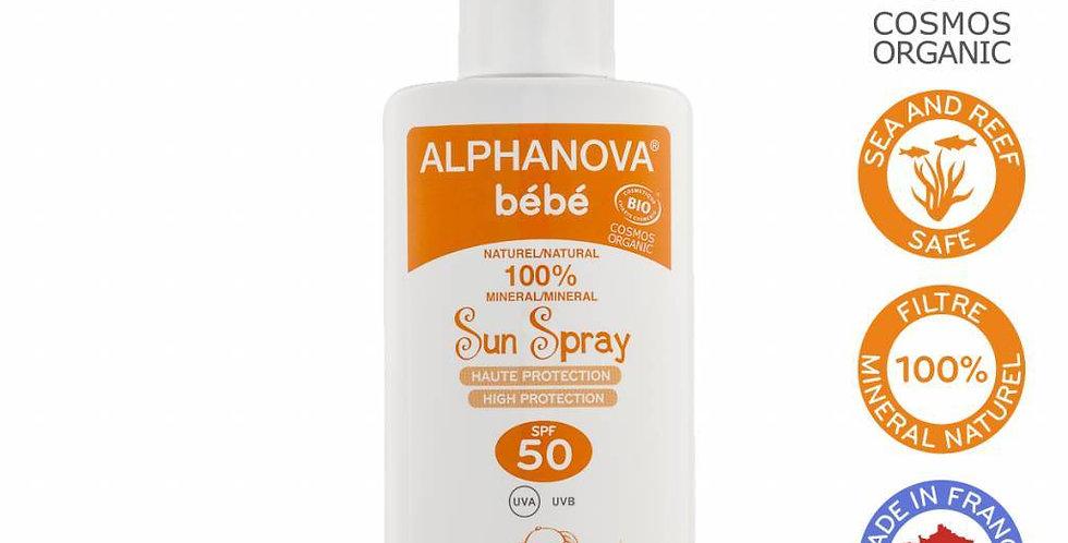 BIO SPF 50 Bebe Hypo allergeen Spray 125g